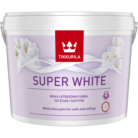 Tikkurila Super White 10l